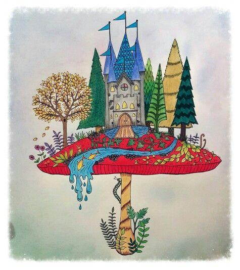 Enchanted Forest Mushroom Castle