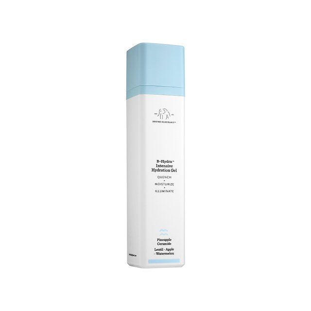 Drunk Elephant B-Hydra Intensive Hydration Gel, $52 |  quenches and brightens skin with an invigorating mix of pineapple ceramides, bearberry, and watermelon rind