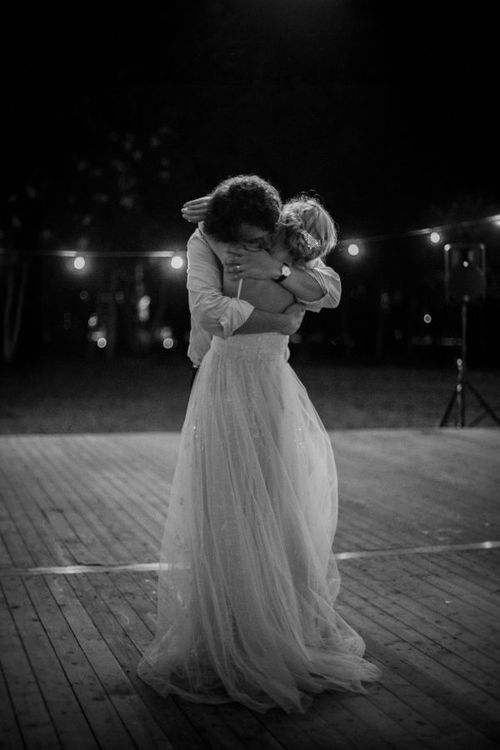 I absolutely adore this. I hope I have an amazing first dance photo like this one. Melts my heart.