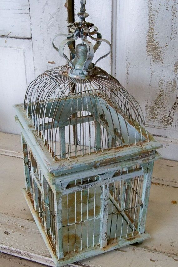 French Blue /Martine Haddouche/Birdcage- More Pins Like This At FOSTERGINGER @ Pinterest