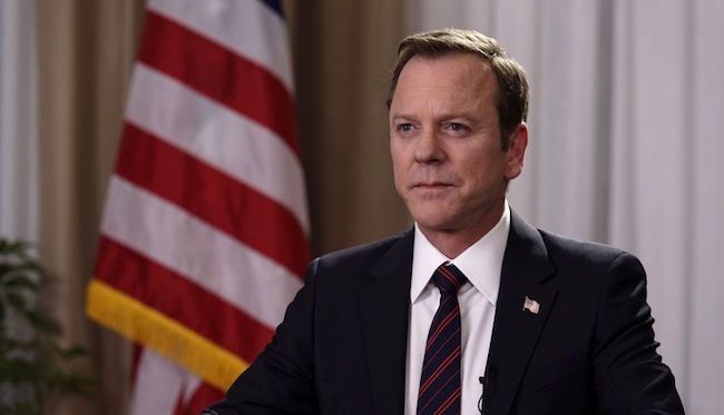 "Perhaps you watched the trailer for ABC's new series Designated Survivor and saw Kiefer Sutherland in a position of power on a show about terrorists attacking Washington and you thought, ""Cool, Jack Bauer is the president now."" Perhaps you conjured up images of him running around D.C. shooting crooked"