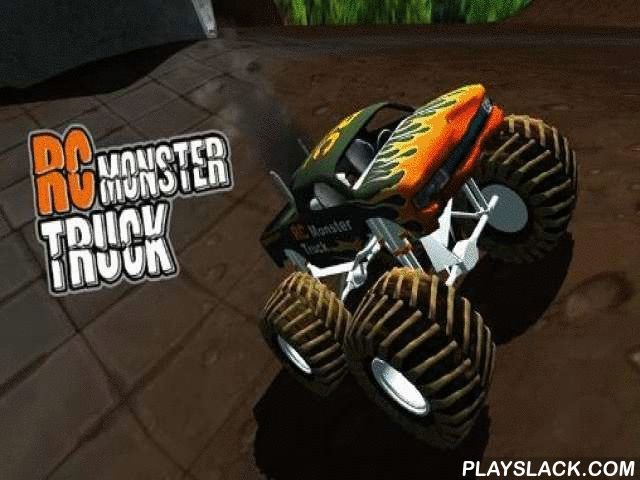 RC Monster Truck  Android Game - playslack.com , Control a tiny RC vehicle along a mad hazardous line through the yard. This game for Android shows you that steering  a radio-controlled vehicle is not less mind-blowing than steering  an actual car. The yard turns into a nearly unsurmountable street with ramps, rocks, and even a swimming excavation as a water danger. attempt not to end your vehicle while overcoming many hindrances. Do high jumps and other strenuous tricks.