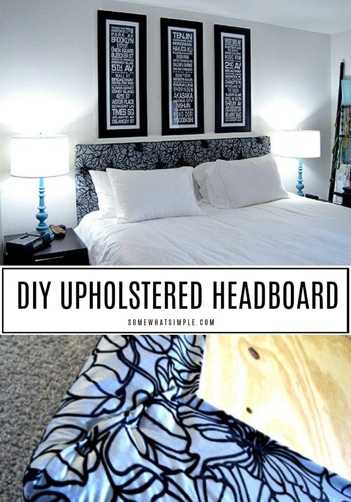 Diy Upholstered Headboard Diy Headboard Upholstered Upholstered