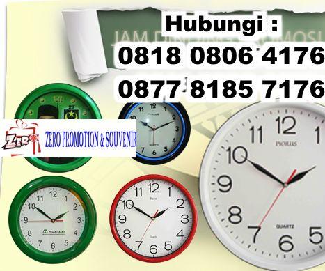 Produksi jam dinding promosi murah Tangerang