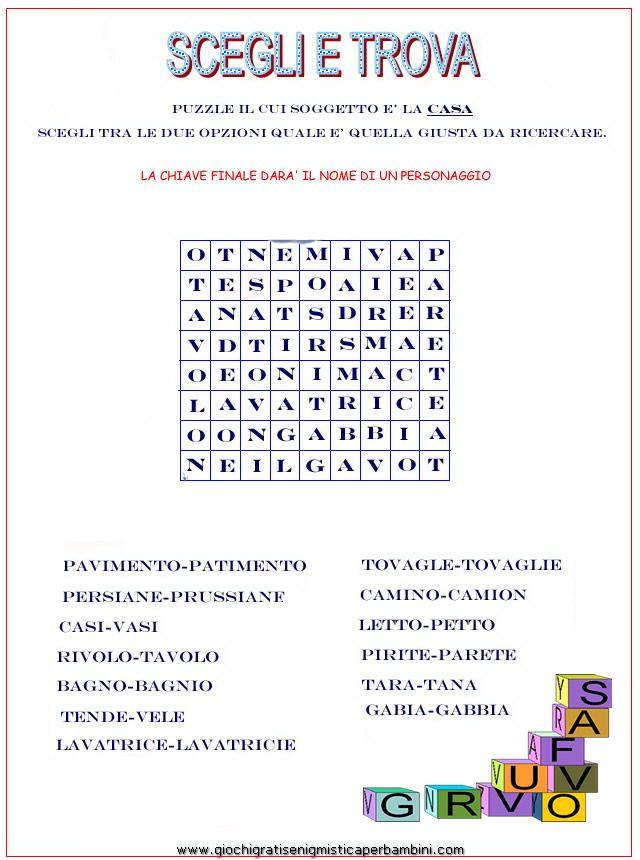 puzzle_crucipuzzle_enigmistica_online Enigmistica per bambini e ragazzi
