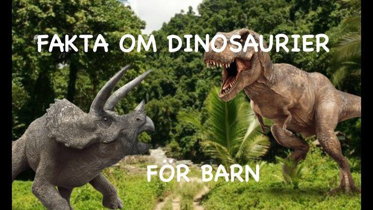 Fakta om dinosaurier för barn