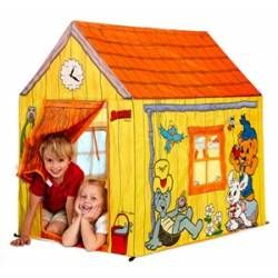 Cozy playhouse  Check it out on: https://tjengo.com/sport-fritid/358-bamse-legehus.html?search_query=legehus&results=1