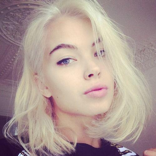 Enjoyable 1000 Ideas About Platinum Blonde Bobs On Pinterest Baby Pink Short Hairstyles Gunalazisus