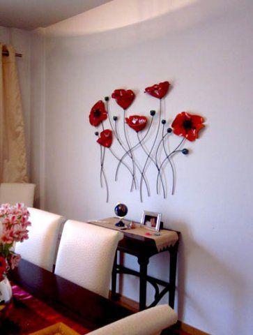 wall murals decor ceramics decorating a wall