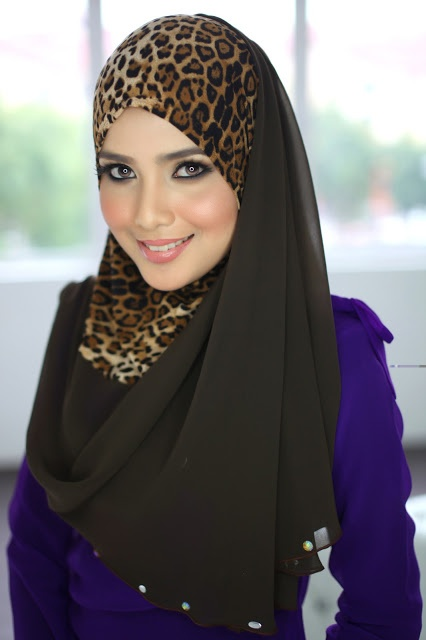 Nice pattern hijab