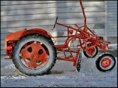 allis chalmers market garden tractor unique looking apparently