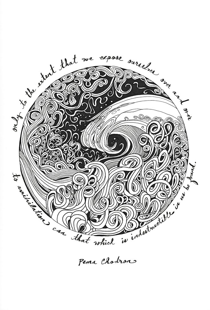 I just like this ink art...