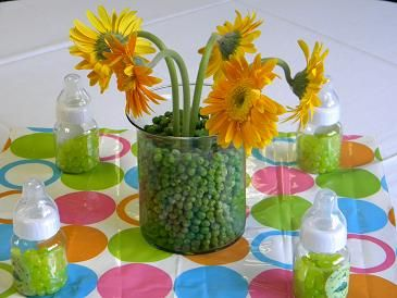 Sweet Pea Baby Shower Centerpiece Ideas Http://www.bigdotofhappiness.com/
