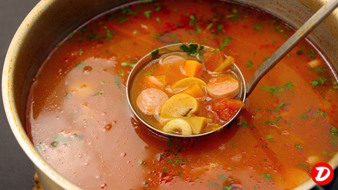 Red Soup Recipe, How to make it