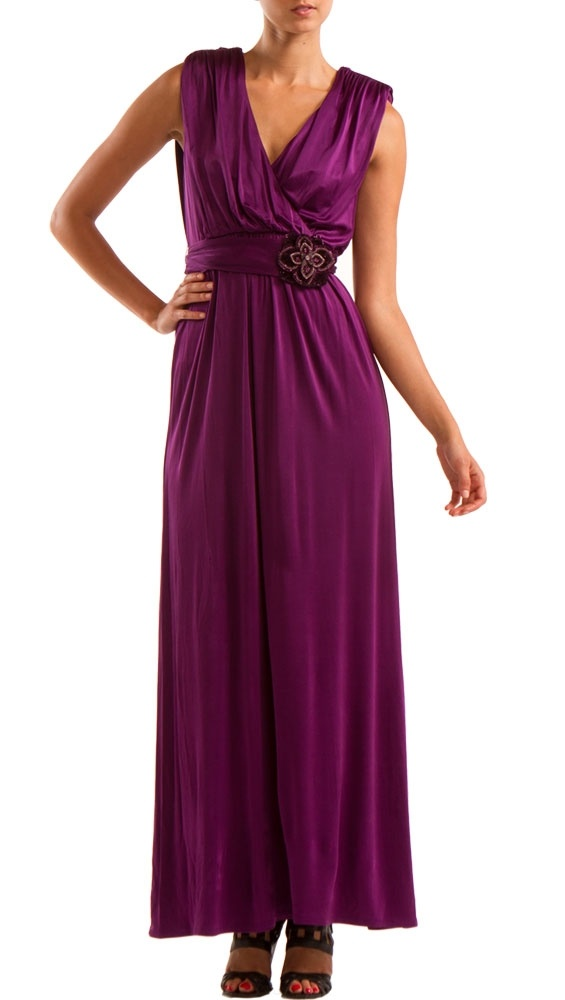 63 best mother of the bride italian wedding images on for Purple maxi dresses for weddings