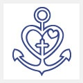 faith, love, hope. I really wish I would have seen this before I got my anchor tattoo! So cute!!