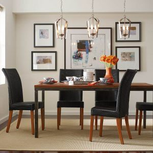 Pendant Light Over Dining Room Table