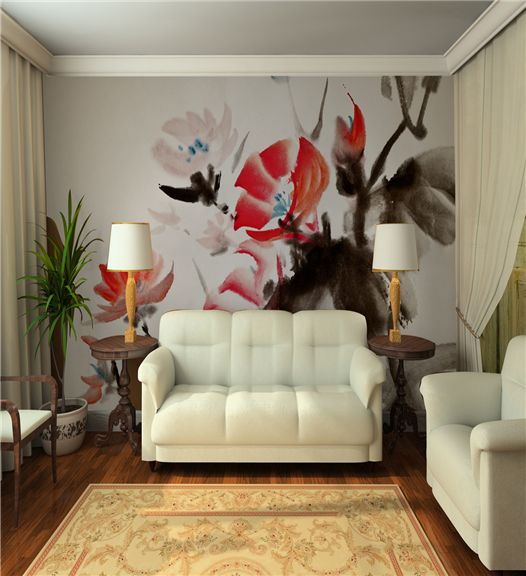 InkShuffle Hand-Painted Custom Wall Mural  http://www.inkshuffle.com/browse/category/Painted/p/1/