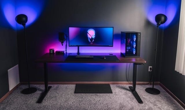 Computer Office Ideas For Men Computer Office Ideas For Men Video Game Rooms Gaming Room Setup Video Game Room Design