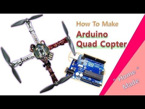 아두이노로 비행하는 쿼드콥터(Arduino Quadcopter)