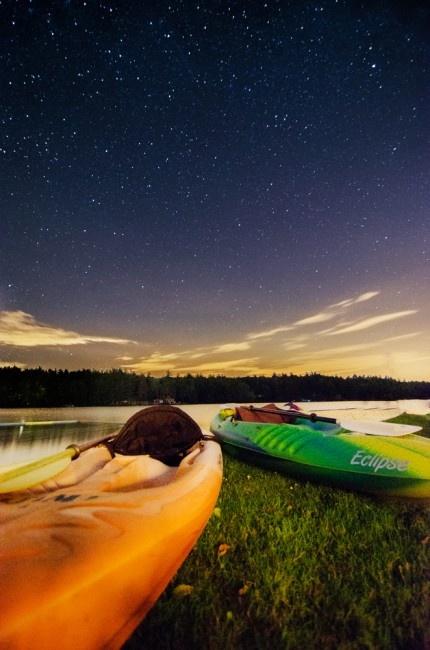 Go Kayaking Under the Stars!