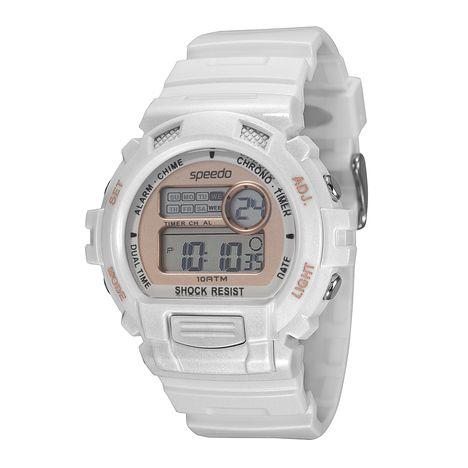 Relógio Speedo Feminino Branco Digital 65083L0EVNP2