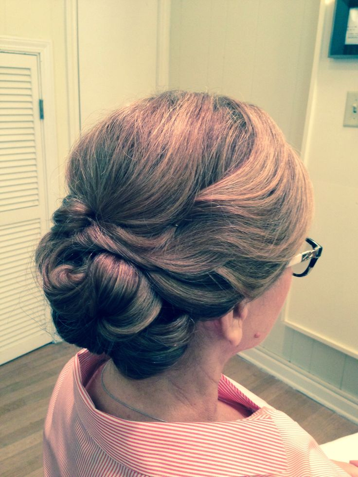 Mother of The Groom Up Do for my son's wedding