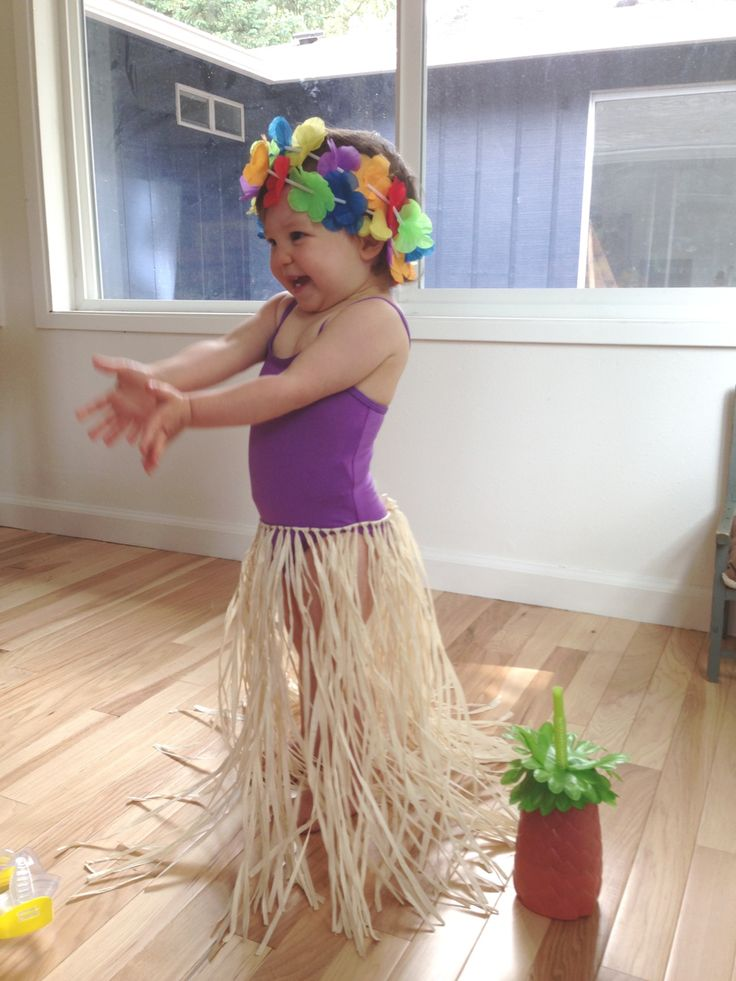 The 25 best hula girl costume ideas on pinterest hawaiian girl diy handmade halloween costumes for toddlers solutioingenieria Gallery