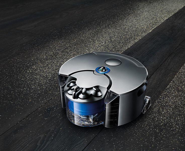 Aspirateur Robot Dyson en action
