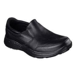 Shop for Men's Skechers Relaxed Fit Glides Calculous Slip On Black/Black. Get free delivery at Overstock.com - Your Online Shoes Outlet Store! Get 5% in rewards with Club O! - 19167555