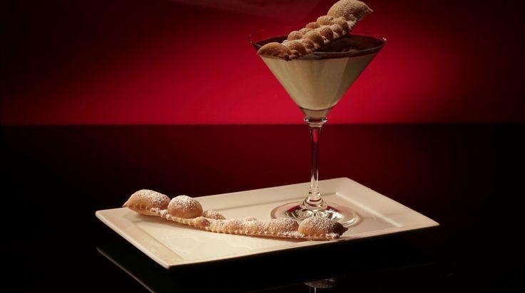 Ep44 - Vanilla Panna Cotta with Espresso Jelly and Crostoli
