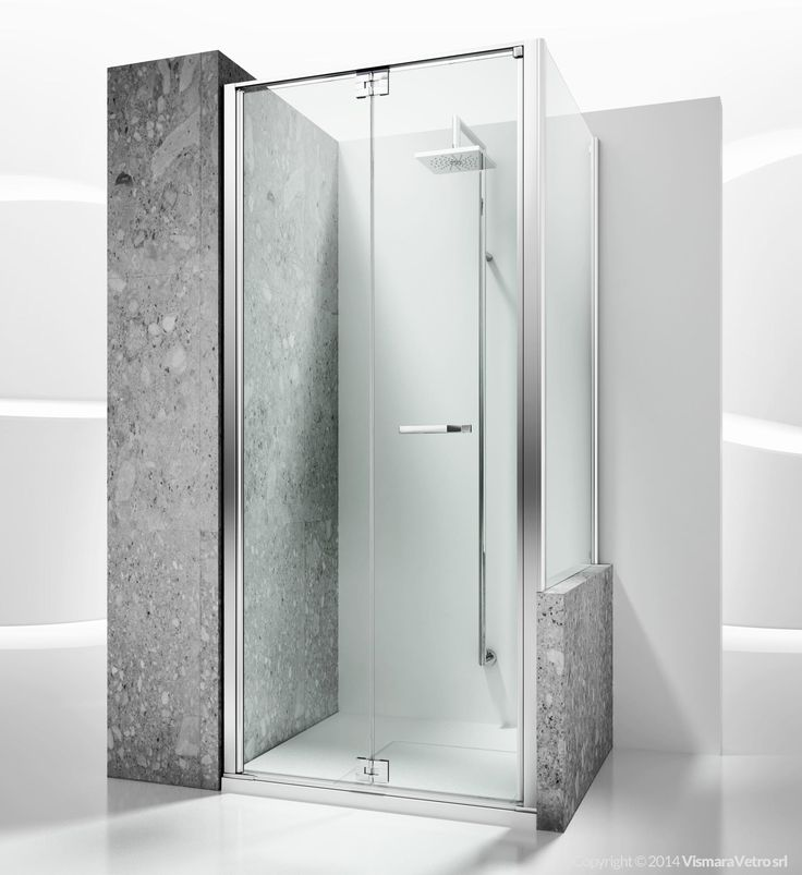Replay shower enclosures models - folding door | by @vismaravetro | RN+RV