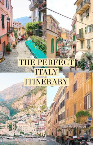 Planning a trip to Italy or hoping to someday? Here is the perfect 3 week Italy itinerary, including a mix ofboth vibrant cities and low-key seaside towns.