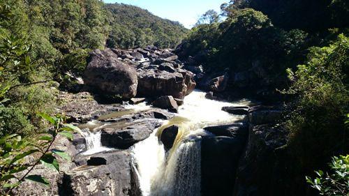 """Un luogo di straordinaria bellezza e di immensa diversità naturale, Ranomafana è diventato il quarto parco nazionale in Madagascar, quando fu inaugurato il 31 maggio, 1991. Rano significa """"acqua"""" in malgascio e Mafana """"caldo"""". Circa 100 anni furono scoperte delle sorgenti di acqua calde, ed un francese, creo' un centro benessere, intorno a cui si formo' il bel villaggio di Ranomafana."""