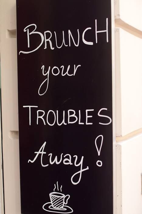 Brunch Your Troubles Away #brunch_away