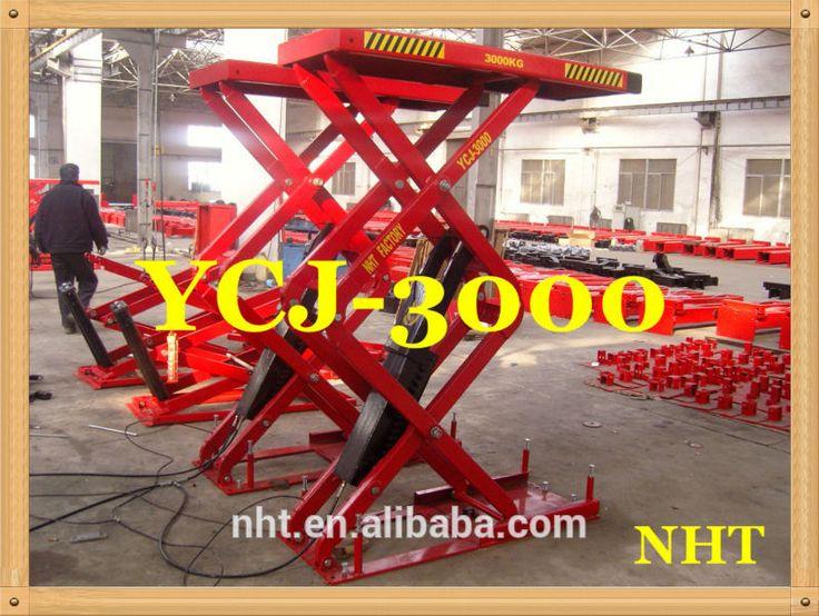 Hydraulic Horizontal Air Bendpak Hydraulic Car Scissor Lift 3.0tons