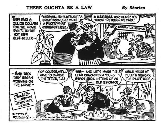 Ought Cartoon