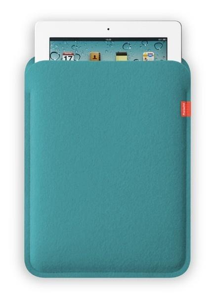 Freiwild Sleeve für iPad - Türkis
