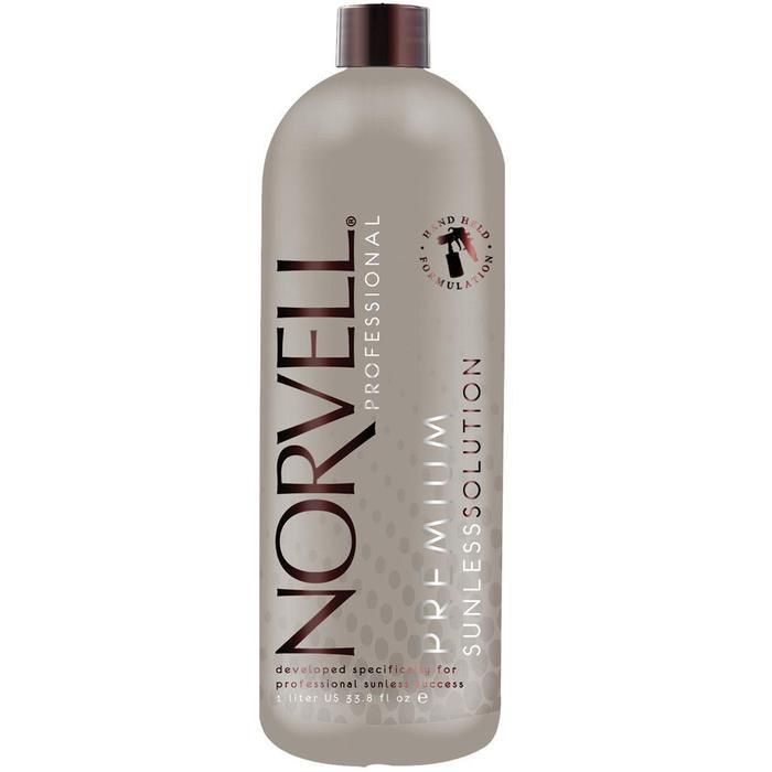 Norvell Premium Sunless Solution - Dark / 34 oz. - This Dark Sunless Tanning Solution utilizes micro-nutrient technology to deliver a potent blend of vitamins and antioxidants to boost the skin's just off the beach glow. The formula works with all skin ty