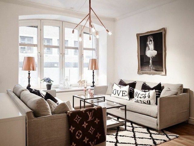 Modern Swedish Apartment Interior #interior #deisgn #interiordesign #swedish #modern #apartment - HomeSketch.org