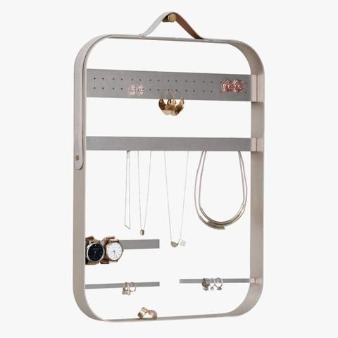 H+G Designs Jewellery Display Brushed Light Gold | Simple Style Co