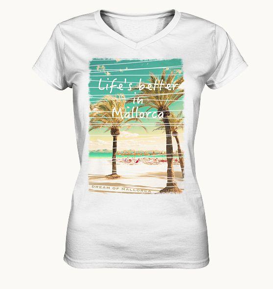 Mit diesem tollen Shirt vertreibst du den Alltag und lebst das Mallorca-Gefühl weiter.