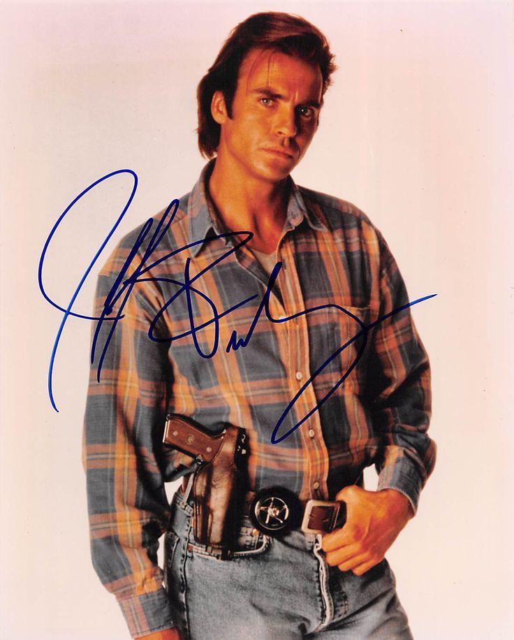 JEFF FAHEY LOST TV SHOW ACTOR ORIGINAL AUTOGRAPH SIGNED PROMO PHOTO