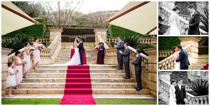 swan valley wedding ceremony