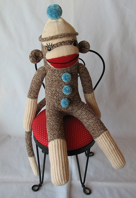 382 best images about Sock Monkeys on Pinterest