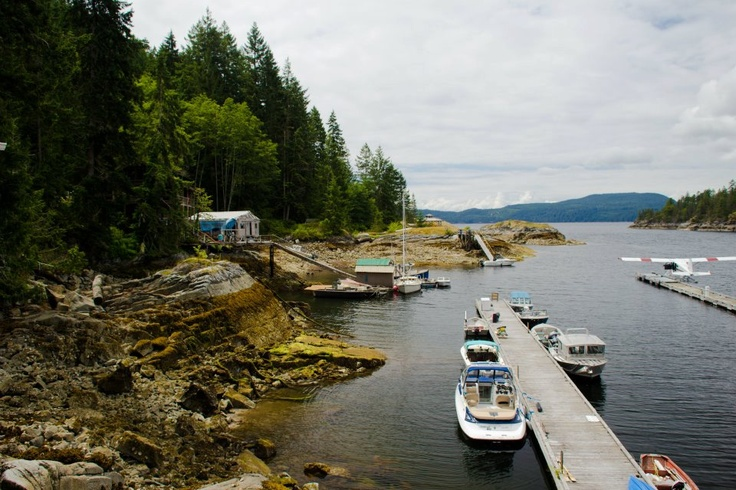 Refuge Cove (population 20) is a community in the heart of Desolation Sound. #explorebc