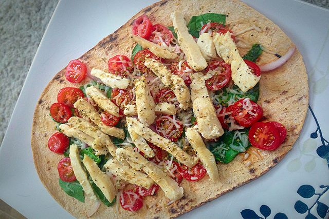 Flat-Out Pizza- 21 Day Fix and 21 Day Fix Extreme Approved- Dana Nicole Fitness