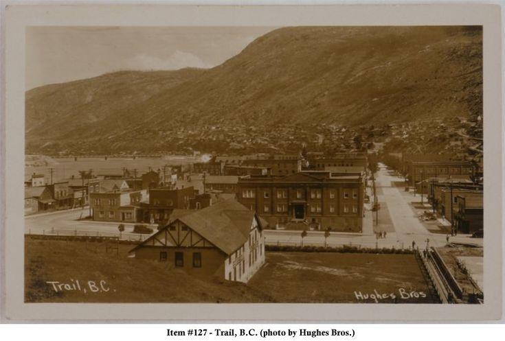 Trail B.C. around 1920