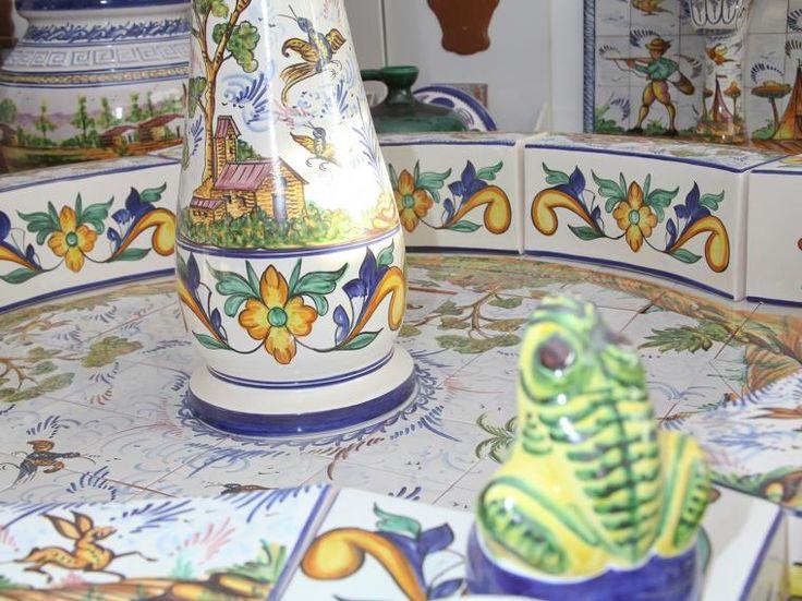 Fuentes estilo andaluz para instalar en patios y jardines - Fuente para patio ...