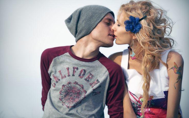 Romantic Love Couples  Kissing Wallpapers 1920×1200 Kiss Image Wallpapers (42 Wallpapers) | Adorable Wallpapers